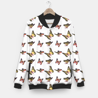 Thumbnail image of Fanciful Flutterflies Baseball Jacket, Live Heroes