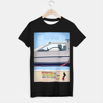 Thumbnail image of Back to the Future - Minimal Movie - Part 2 of 3 Alternative T-shirt regular, Live Heroes
