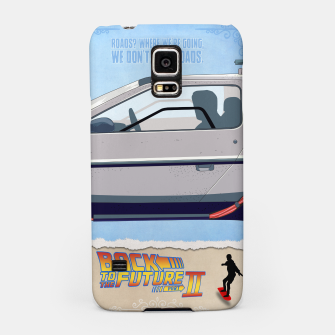 Thumbnail image of Back to the Future - Minimal Movie - Part 2 of 3 Alternative Samsung Case, Live Heroes