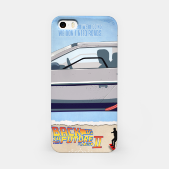 Thumbnail image of Back to the Future - Minimal Movie - Part 2 of 3 Alternative iPhone Case, Live Heroes