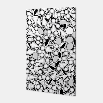 Thumbnail image of Pawn Storm B&W Canvas, Live Heroes