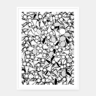 Thumbnail image of Pawn Storm B&W Framed poster, Live Heroes
