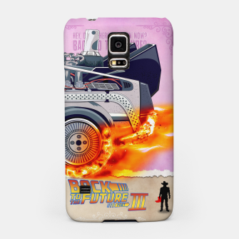Thumbnail image of Back to the Future - Minimal Movie - Part 3 of 3 Alternative Samsung Case, Live Heroes