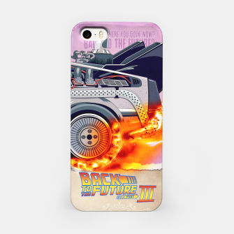 Thumbnail image of Back to the Future - Minimal Movie - Part 3 of 3 Alternative iPhone Case, Live Heroes