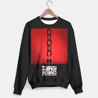 Thumbnail image of Django Unchained - Minimal Movie Poster. A Film by Quentin Tarantino. Sweater regular, Live Heroes