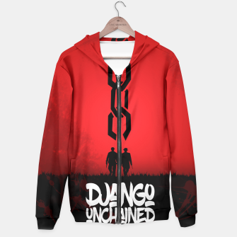 Thumbnail image of Django Unchained - Minimal Movie Poster. A Film by Quentin Tarantino. Hoodie, Live Heroes