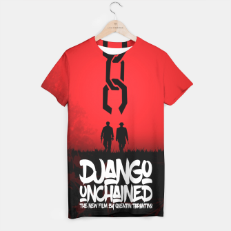Thumbnail image of Django Unchained - Minimal Movie Poster. A Film by Quentin Tarantino. T-shirt, Live Heroes