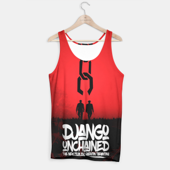 Thumbnail image of Django Unchained - Minimal Movie Poster. A Film by Quentin Tarantino. Tank Top, Live Heroes