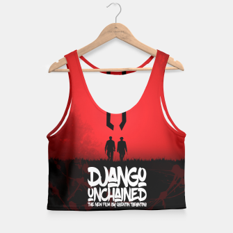 Thumbnail image of Django Unchained - Minimal Movie Poster. A Film by Quentin Tarantino. Crop Top, Live Heroes