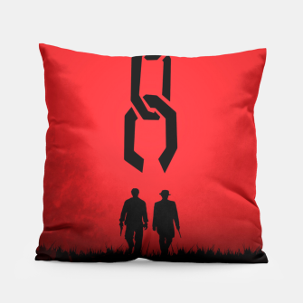 Thumbnail image of Django Unchained - Minimal Movie Poster. A Film by Quentin Tarantino. Pillow, Live Heroes