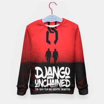 Thumbnail image of Django Unchained - Minimal Movie Poster. A Film by Quentin Tarantino. Kid's Sweater, Live Heroes