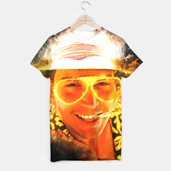 Miniatur Fear and Loathing in Las Vegas - Alternative Movie Poster T-shirt, Live Heroes