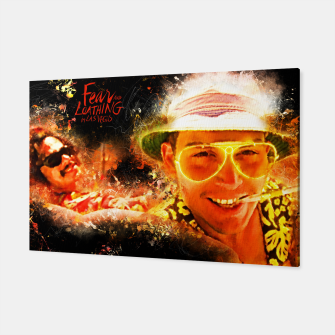 Miniatur Fear and Loathing in Las Vegas - Alternative Movie Poster Canvas, Live Heroes