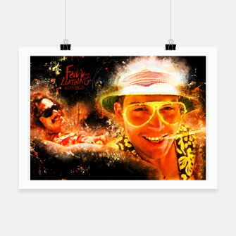 Miniatur Fear and Loathing in Las Vegas - Alternative Movie Poster Poster, Live Heroes