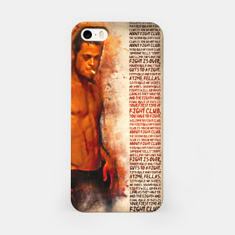 Miniatur Fight Club - alternative art poster iPhone Case, Live Heroes