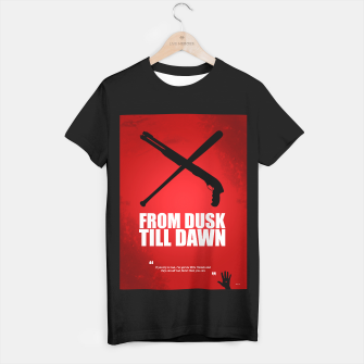 Miniatur From Dusk Till Dawn - Minimal Movie Poster - Alternative  T-shirt regular, Live Heroes