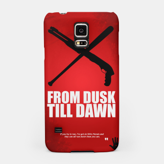 Miniatur From Dusk Till Dawn - Minimal Movie Poster - Alternative  Samsung Case, Live Heroes