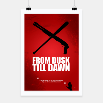Miniatur From Dusk Till Dawn - Minimal Movie Poster - Alternative  Poster, Live Heroes