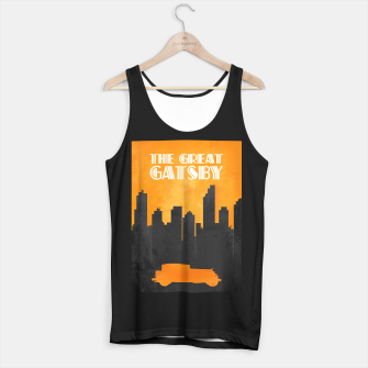 Thumbnail image of The Great Gatsby - Minimal Movie Poster. Tank Top regular, Live Heroes