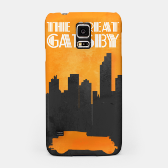 Thumbnail image of The Great Gatsby - Minimal Movie Poster. Samsung Case, Live Heroes