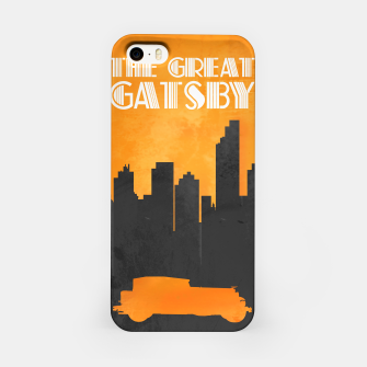 Thumbnail image of The Great Gatsby - Minimal Movie Poster. iPhone Case, Live Heroes