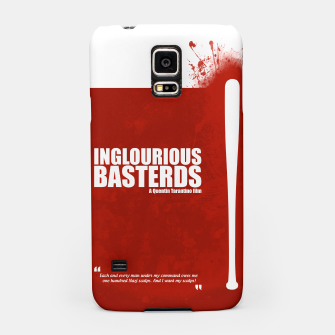 Thumbnail image of Inglourious Basterds. Minimal Movie Poster - A Quentin Tarantino Film. Samsung Case, Live Heroes