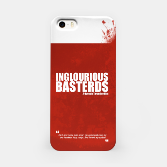 Thumbnail image of Inglourious Basterds. Minimal Movie Poster - A Quentin Tarantino Film. iPhone Case, Live Heroes