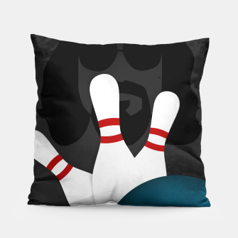 Thumbnail image of The Big Lebowski - Minimal Movie Poster. A Film by Joel Coen and Ethan Coen. Pillow, Live Heroes