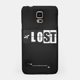 Thumbnail image of Lost - Minimal TV Series Poster. Samsung Case, Live Heroes