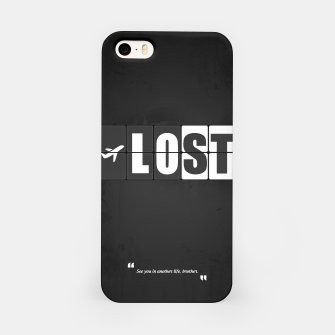 Thumbnail image of Lost - Minimal TV Series Poster. iPhone Case, Live Heroes