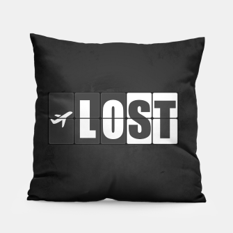 Thumbnail image of Lost - Minimal TV Series Poster. Pillow, Live Heroes