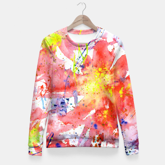 Thumbnail image of Floral vibes Fitted Waist Sweater, Live Heroes