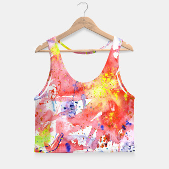 Thumbnail image of Floral vibes Crop Top, Live Heroes