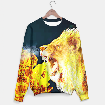 Miniaturka Fire Lion  Sweater, Live Heroes