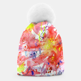 Thumbnail image of Floral vibes Beanie, Live Heroes