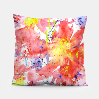 Thumbnail image of Floral vibes Pillow, Live Heroes