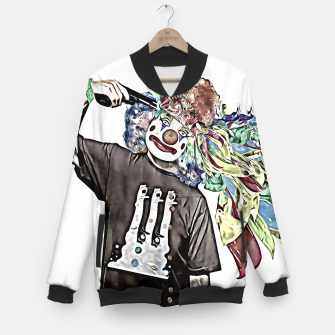 Thumbnail image of Paint on my mind Baseball Jacket, Live Heroes