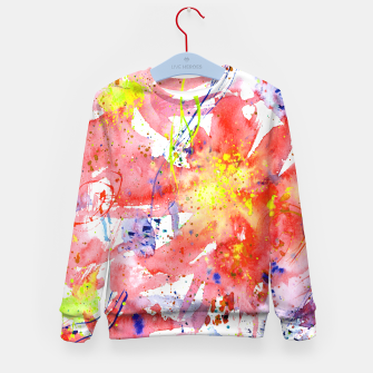 Thumbnail image of Floral vibes Kid's Sweater, Live Heroes