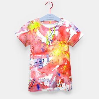 Thumbnail image of Floral vibes Kid's T-shirt, Live Heroes