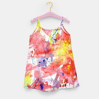 Thumbnail image of Floral vibes Girl's Dress, Live Heroes