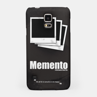 Thumbnail image of Memento. Minimal Movie Poster - A Christopher Nolan Film. Samsung Case, Live Heroes