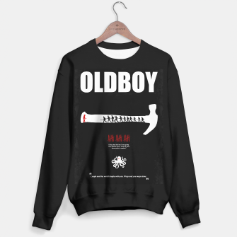 Thumbnail image of Oldboy - Minimal Movie Poster. A Film by Chan-wook Park. Sweater regular, Live Heroes