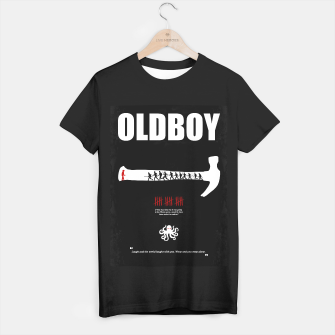 Thumbnail image of Oldboy - Minimal Movie Poster. A Film by Chan-wook Park. T-shirt regular, Live Heroes