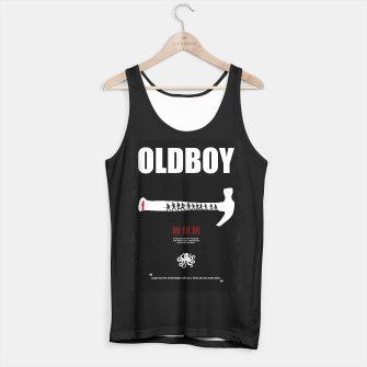 Thumbnail image of Oldboy - Minimal Movie Poster. A Film by Chan-wook Park. Tank Top regular, Live Heroes