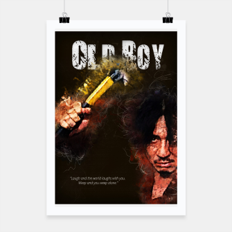 Thumbnail image of Oldboy - alternative art poster Poster, Live Heroes