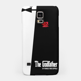 Miniatur Godfather - minimal fanart alternative movie poster Samsung Case, Live Heroes