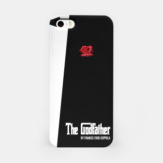 Miniatur Godfather - minimal fanart alternative movie poster iPhone Case, Live Heroes