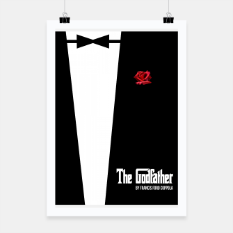 Miniatur Godfather - minimal fanart alternative movie poster Poster, Live Heroes