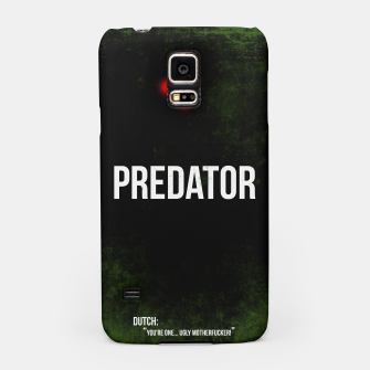 Thumbnail image of Predator - minimal movie poster Samsung Case, Live Heroes