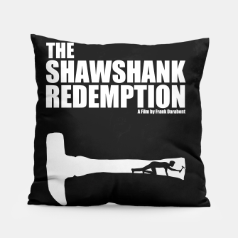 Thumbnail image of The Shawshank Redemption - A Minimal Movie Poster. A Film by Frank Darabont. Pillow, Live Heroes